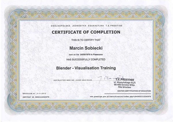 Blender - Visualisation Training