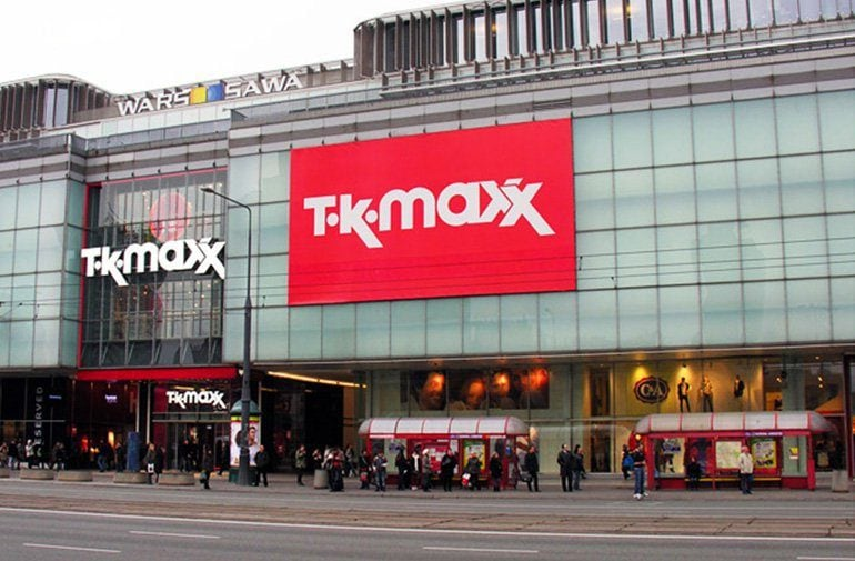 Baner reklamowy TK Maxx