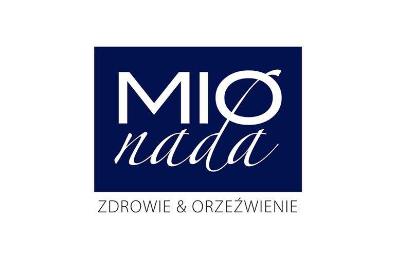 Projekt graficzny loga napojów MIOnada