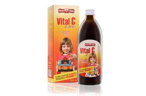 Projekt graficzny etykiety i pudełka produktu Vital C