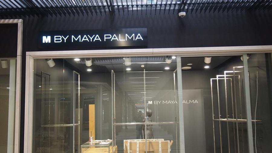 Kaseton podświetlany w galerii handlowej