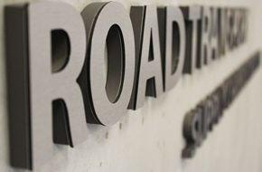 Szyld reklamowy Road Transport