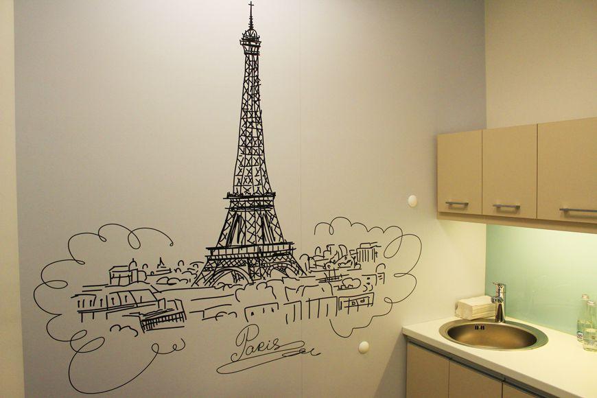 Tapeta laminowan na ścianę kuchni