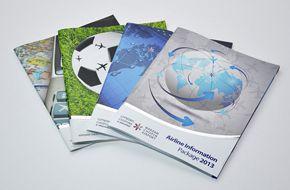 Projekt graficzny i wydruk broszury dla Lotniska Chopina w Warszawie.
