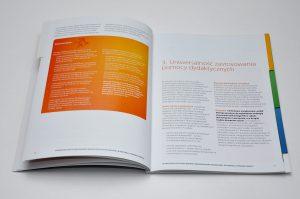 """Projekt graficzny i druk broszury """"Cyfrowa Szkoła"""""""