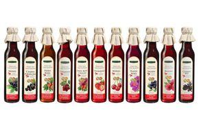 Projekt graficzny etykiet syropów 250ml dla firmy Premium Rosa