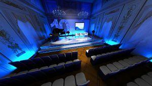 Wizualizacje 3D – wizualizacja scenografii eventu