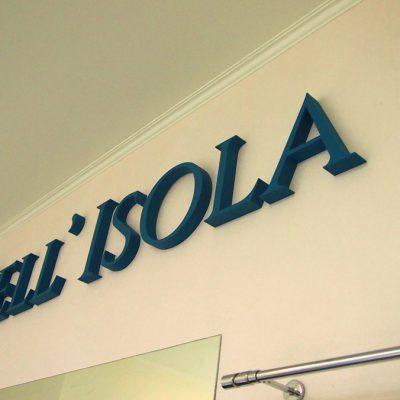 Bell' Isola - branding salonu sprzedaży