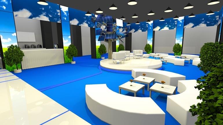 Wizualizacja 3D scenografii eventu