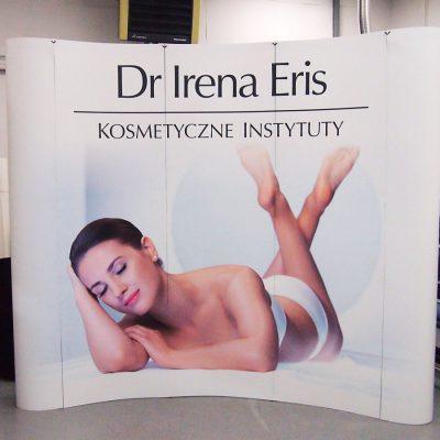 Ścianka reklamowa gabinetu kosmetycznego