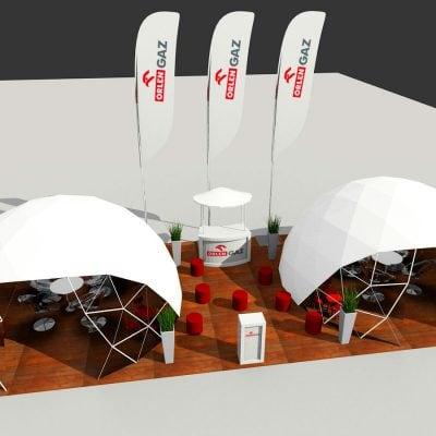 Wizualizacja 3D strefy plenerowej