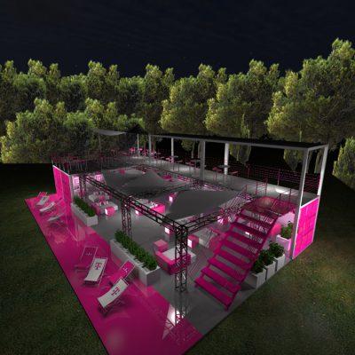 Wizualizacja 3D – Projekt strefy plenerowej