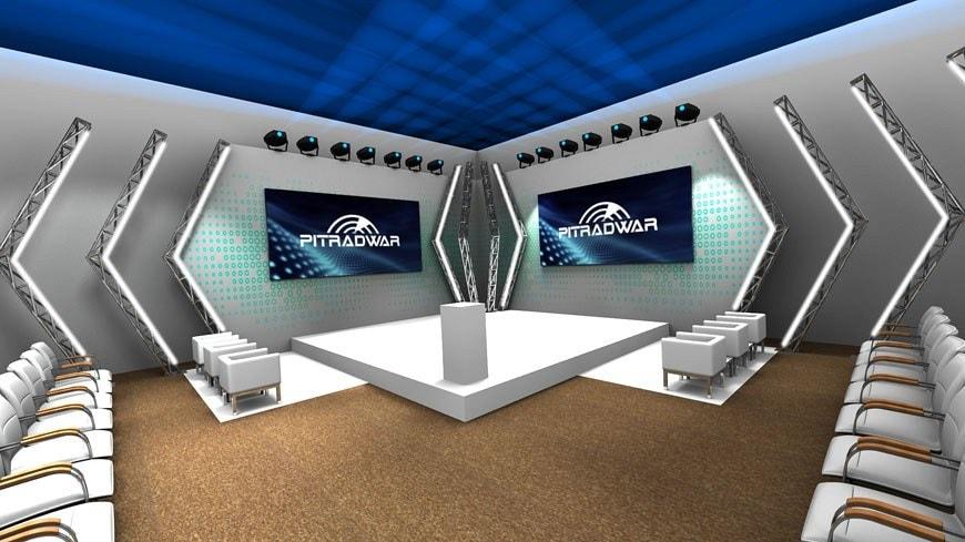 Wizualizacja 3D - wizualizacja scenografii eventu