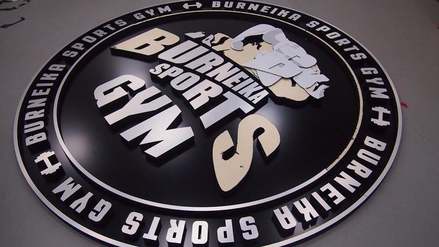 Logo firmowe przestrzenne