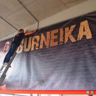 Kompleksowe oznakowanie punktu Burneika Sports Gym