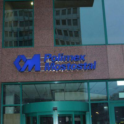 Renowacja podświetlanego loga firmy