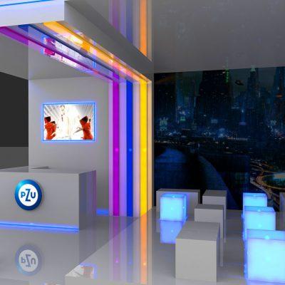 Wizualizacja eventowa – strefa VIP