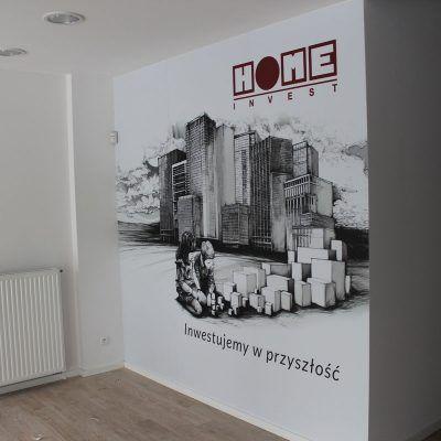 Tapeta na ścianie - druk solventowy