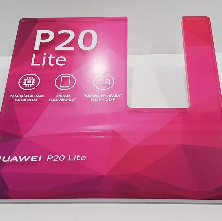 Prezenter POS dla smartfona Huawei