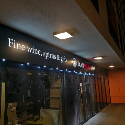 Dar Wina - Kaseton frezowany z dibondu