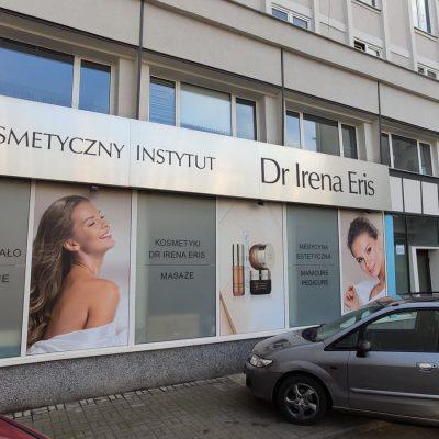 Kompleksowe oznakowanie salonu kosmetycznego