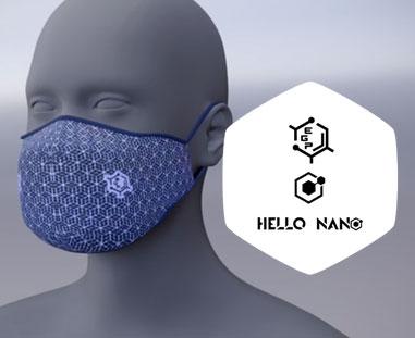 Animacja produktu 3D - Maseczka Hello Nano